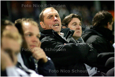 AD/HC - Voetbaltrainer John Blok van Quick Boys tijdens de bekerwedstrijd tegen Heerenveen - KATWIJK 16 JANUARI 2008 - FOTO NICO SCHOUTEN