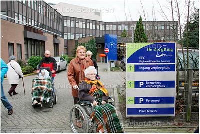 AD/HC - Norovirus verpleeghuis REC - ZOETERMEER 21 JANUARI 2008 - FOTO NICO SCHOUTEN