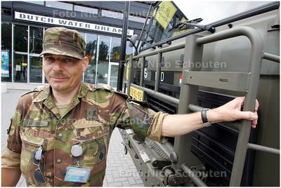 AD/HC - Oefening Nationale Reserves, Dutch Water Dreams, zoetermeerse militair - ZOETERMEER 5 JULI 2008 - FOTO NICO SCHOUTEN