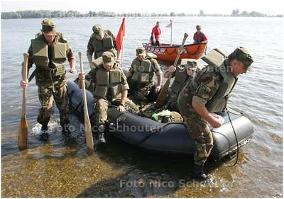 AD/HC - Oefening Reddingsbrigade en Nationale Reserves, Noord Aa - ZOETERMEER 5 JULI 2008 - FOTO NICO SCHOUTEN