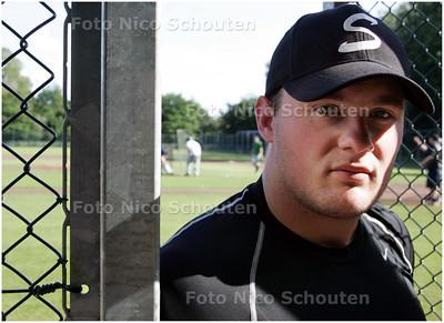 AD/HC - Storks-honkbalcoach Boudewijn van Elswijk - DEN HAAG 17 JUNI 2008 - FOTO NICO SCHOUTEN
