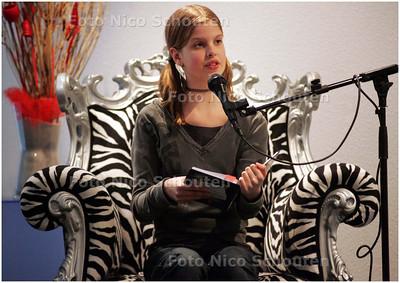 AD/HC - Cathinka Camfferman doet mee aan de nationale voorleeswedstrijd - RIJSWIJK 8 MAART 2008 - FOTO NICO SCHOUTEN