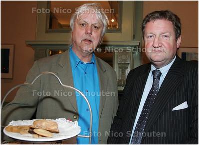 AD/HC - Uitreiking Den Haag marketing promotieprijs - bij verhaal Leo van der Velde - DEN HAAG 10 MAART 2008 - FOTO NICO SCHOUTEN