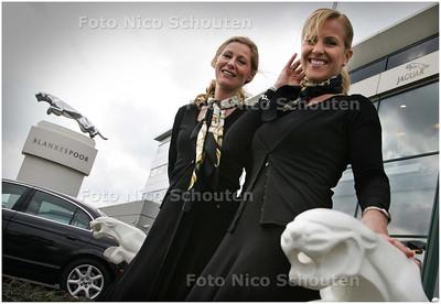 AD/HC - Lifestylefair van Jaguar, Jeanette Jouvenaar (l) en Patricia de Heijer - DEN HAAG 8 MAART 2008 - FOTO NICO SCHOUTEN
