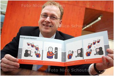 AD/HC - Niels v.d. Berg van Flying Bytes Mobile - DEN HAAG 5 MAART 2008 - FOTO NICO SCHOUTEN