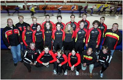 AD/HC - langebaanploeg van het gewest Zuid-Holland - DEN HAAG 8 OKTOBER 2008 - FOTO NICO SCHOUTEN