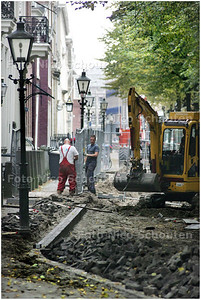 AD/HC - WERZAAMHEDEN LANGE VOORHOUT - DEN HAAG 7 OKTOBER 2008 - FOTO NICO SCHOUTEN