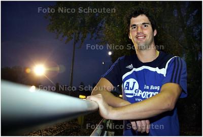 AD/HC - Handbal: Michel Pronk, doelman van Hellas - DEN HAAG 9 OKTOBER 2008 - FOTO NICO SCHOUTEN