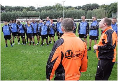 AD/HC - Eerste training van fusie-voetbalvereniging Oranjeplein-Postduiven - DEN HAAG 4 SEPTEMBER 2008 - FOTO NICO SCHOUTEN
