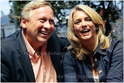 AD/HC - Haegsche Ambassadeurs van Goede Smaeck - Alexander van Ketwich en Yvonne van der Krogt - DEN HAAG 15 SEPTEMBER 2008 - FOTO NICO SCHOUTEN