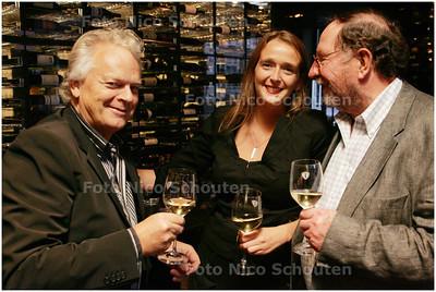 AD/HC - Haegsche Ambassadeurs van Goede Smaeck - vlnr Ruud Wilmink, Sanne van Loon en Miklos Becka - DEN HAAG 15 SEPTEMBER 2008 - FOTO NICO SCHOUTEN
