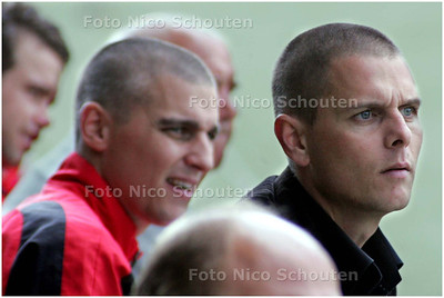 AD/HC - KVS trainer Nico Kruit tijdens   KVS-HKV/Ons Eibernest - DEN HAAG 7 SEPTEMBER 2008 - FOTO NICO SCHOUTEN