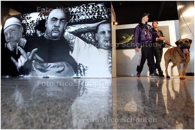 AD/HC - Graffiti expositie Artdrenaline in Megastores - DEN HAAG 6 SEPTEMBER 2008 - FOTO NICO SCHOUTEN