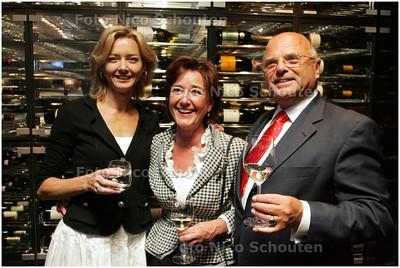 AD/HC - Haegsche Ambassadeurs van Goede Smaeck - vlnr Christine Schouten, Tilly Wagenaar en Peter Engering - DEN HAAG 15 SEPTEMBER 2008 - FOTO NICO SCHOUTEN
