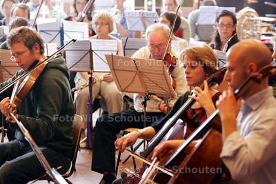 amateurs bij Residentie Orkest - DEN HAAG 4 APRIL 2009 - FOTO NICO SCHOUTEN