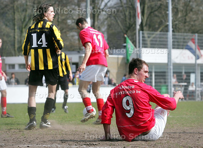 voetbalwedstrijd HMSH-HVV - DEN HAAG 5 APRIL 2009 - FOTO NICO SCHOUTEN