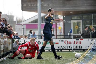 voetbalwedstrijd Haaglandia - ADO'20 - RIJSWIJK 5 APRIL 2009 - FOTO NICO SCHOUTEN