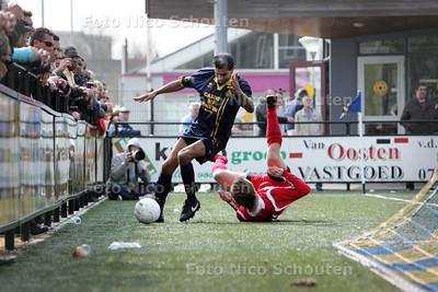 voetbalwedstrijd Haaglandia - ADO'20 - DEN HAAG 5 APRIL 2009 - FOTO NICO SCHOUTEN