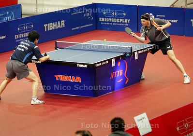 Tafeltennis: Michel de Boer tijdens de Masters - ZOETERMEER 12 DECEMBER 2009 - FOTO NICOSCHOUTEN