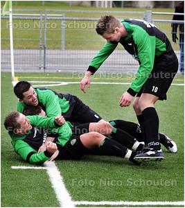 AD/HC - voetbalwedstrijd DUNO - SVC'08 - Duno heeft 4-2 gescoord en is vrijwel zeker van de periodetitel - DEN HAAG 7 FEBRUARI 2009 - FOTO NICO SCHOUTEN