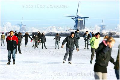 AD/HC - DRUKTE MOLENTOCHT ROTTEMEREN - BLEISWIJK 9 JANUARI 2009 - FOTO NICO SCHOUTEN