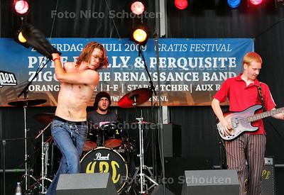 festival Plein Open - KLOPJE POPJE - DEN HAAG 26 JULI 2009 - FOTO NICO SCHOUTEN