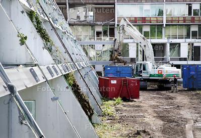 sloopwerkzaamheden schoutenhoek - ZOETERMEER 5 JUNI 2009 - FOTO NCIO SCHOUTEN