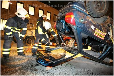 AD/HC - 4-UURS over nachtje op de brandweerkazerne in Pijnacker-Nootdorp - PIJNACKER 9 MAART 2009 - FOTO NICO SCHOUTEN