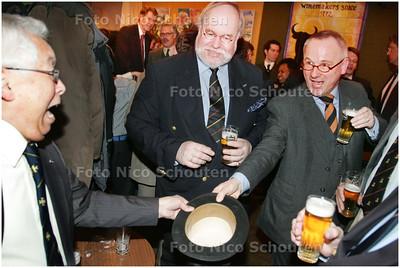 AD/HC - Voor Mensen-pagina: Bijeenkomst Haags Studenten Schutterskorps Pro Libertate dat 50 jaar bestaat- Verslaggever Herman Rosenberg - DEN HAAG 4 MAART 2009 - FOTO NICO SCHOUTEN