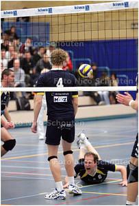 AD/HC - Inter Rijswijk-PZ/Dynamo halve finale van de bekercompetitie  - RIJSWIJK 4 MAART 2009 - FOTO NICO SCHOUTEN