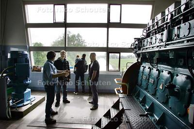 Open dag molens en gemalen Gemaal Palenstein aan noordrand Zoetermeer - ZOETERMEER 9 MEI 2009 - FOTO NICO SCHOUTEN