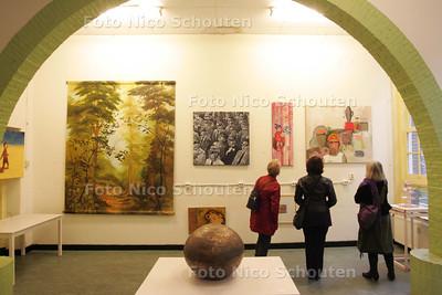 Nieuwe galerie voor collectief De Sigarenfabriek - DELFT 3 OKTOBER 2009 - FOTO NICO SCHOUTEN