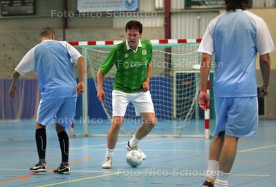 Zaalvoetballer Rene van Schie - RIJSWIJK 5 OKTOBER 2009 - FOTO NICO SCHOUTEN