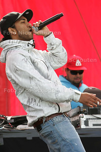 Hiphop-festival Rokkesteen, vlijmscherp - ZOETERMEER 5 SEPTEMBER 2009 - FOTO NICO SCHOUTEN