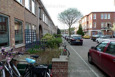 Koopmans van Boekerenstraat, de Straat waar Lucia de Berk woonde - DEN HAAG 15 APRIL 2010 - FOTO NICO SCHOUTEN