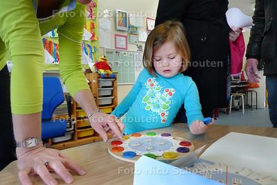 Open dag openbare basisschool de tjalk - ZOETERMEER 10 APRIL 2010 - FOTO NICO SCHOUTEN