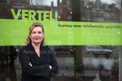 Carla Meeuwisse van Vertel! starte in deze moeilijke tijd een bedrijfje - DEN HAAG 10 DECEMBER 2010 - FOTO NICO SCHOUTEN