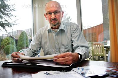 Jochem den Dulk, lijsttrekker Leefbaar Zoetermeer - ZOETERMEER 4 FEBRUARI 2010 - FOTO NICO SCHOUTEN