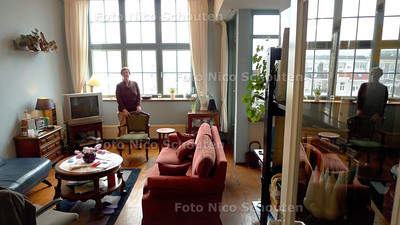 foto voor de WONEN2 (persoonlijk woonverhaal): Trudy Messersmid - DEN HAAG 5 FEBRUARI 2010 - FOTO NICO SCHOUTEN