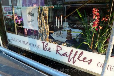 restaurant Raffles voor Gouden Pollepel - DNE HAAG 9 MAART 2010 - FOTO NICO SCHOUTEN