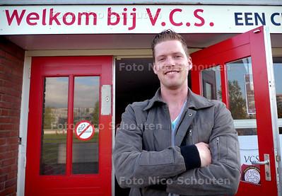 voetballer Pascal de Vriend van VCS - DEN HAAG 19 MEI 2010 - FOTO NICO SCHOUTEN