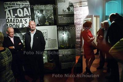 Stadsmuseum: expo over spionnen (BVD en AIVD) - Een blik door de het spiegelvenster - ZOETERMEER 15 OKTOBER 2010 - FOTO NICO SCHOUTEN