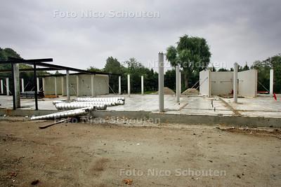 Nieuwbouw Mariscollege, mgr Nolenslaan - DEN HAAG 10 AUGUSTUS 2010 - FOTO NICO SCHOUTEN