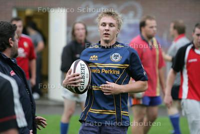 Rugby: Ryan Berrevoets, speler van Haagse RC - DEN HAAG 17 AUGUSTUS 2010 - FOTO NICO SCHOUTEN