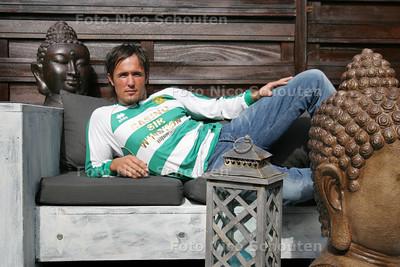 Jaap van der Griend, keeper van Haaglandia-zaterdag - DEN HAAG 3 AUGUSTUS 2010 - FOTO NICO SCHOUTEN