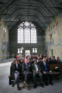 De Nieuwe Kerk in Scheveningen wordt gerenoveerd en omgebouwd tot kantorencomplex - DEN HAAG 29 SEPTEMBER 2010 - FOTO NICO SCHOUTEN