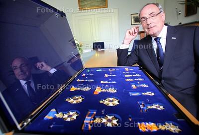 Directeur Van Ingen van de Kapittelzaal van de Kanselarij der Nederlandse Orden - DEN HAAG 26 APRIL 2011 - FOTO NICO SCHOUTEN - portret