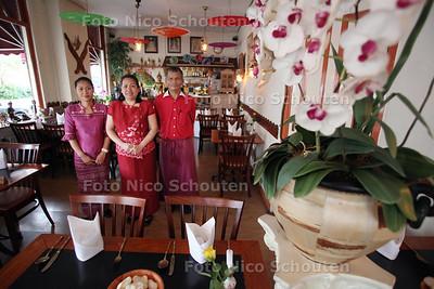 Restaurant Rakang Thai voor de gouden pollepel - DEN HAAG 9 AUIGUSTUS 2011 - FOTO NICO SCHOUTEN
