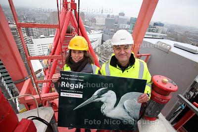 WINNARES  HIJSKRAAN-PRIJSVRAAG - DEN HAAG 21 DECEMBER 2011 - FOTO NICO SCHOUTEN