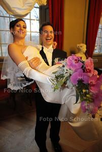 Oostenrijks paar trouwt op 11-1-'11 - DEN HAAG 11 JANUARI 2011 - FOTO NICO SCHOUTEN